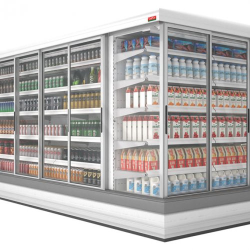 Island Refrigeration Display Cases